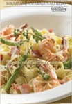 Italiannis - Shrimp and Asparagus Alfredo