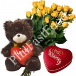 Yellow rose gifts