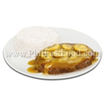 1-pc. Big Burger Steak with Rice