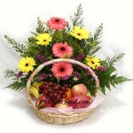 Gerbera Mixed With Fruits