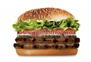 Burger King - DOUBLE WHOPPER