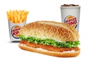 Burger King- Extra Long Long Chicken Sandwich Value Meal