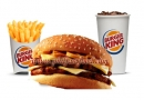 Burger King - Doubles Mushroom Swiss Value Meal