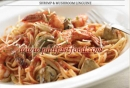 Italiannis - Shrimp and Mushroom Linguine