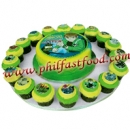 BEN 10 ALIEN FORCE OMNITRIX CUPCAKES