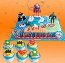 JUSTICE LEAGUE BIRTHDAY PACKAGE