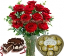 Red Roses Combo Gifts