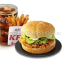 Spicy Gangnam Zinger Meal (NEW)