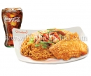 Pancit Canton & Chinese Style Fried Chicken w/ Regular Drink