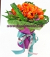 Orange Tulips Bouquet