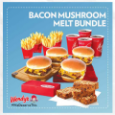 Bacon Mushroom Melt Bundle