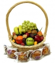 Fruit and Muffin Basket