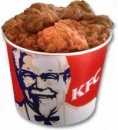 KFC 20 pcs Chicken Barrel
