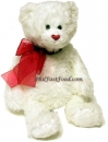White Love Bear